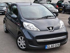 Peugot 107 on Low cost Car Hire